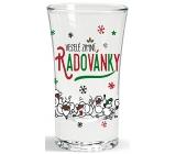 Nekupto Winter glass dummy Merry winter fun 40 ml