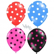 Rappa Inflatable Balloon with Polka Dots 4 colors, 3 pieces