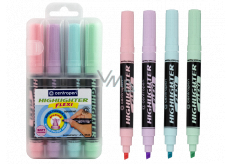 Centropem Highlighter Flexi Soft highlighter pastel shades 4 pieces in a case