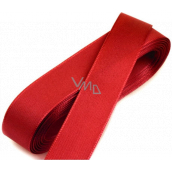 Nekupto Ribbon fabric taffeta red 3 mx 15 mm