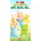 Nekupto Greeting Cards General Animals 116 x 220 mm 3494 K