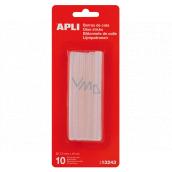 Apli Fusible sticks 7.5 mm x 10 cm, transparent 10 pieces