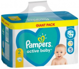 Pampers Active Baby Giantpack Mini size 2, 4-8 kg diaper panties 96 pieces