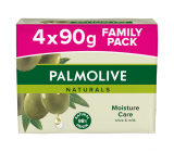 Palmolive Naturals Olive Milk solid toilet soap 3 + 1 piece 90 g