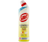 Savo Lemon Toilet liquid cleaning and disinfecting agent 750 ml