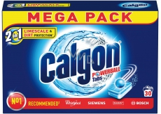 Calgon 2in1 Powerball Tabs Water Softener Tablets Against Lime 30 doses of 390 g