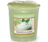 Yankee Candle Vanilla Lime - vanilla with lime scented candle 49 g