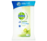 Dettol Lime and mint antibacterial wipes for surfaces 36 pieces