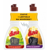 Diava Polish for tombstones 250 ml + cleaner for tombstones 250 ml, duopack