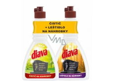DIAVA rinse aid + tomato cleaner 2x250ml 2092