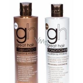 Baylis & Harding Coconut Oil moisturizing shampoo 500 ml + conditioner 500 ml, cosmetic set