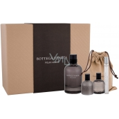 Bottega Veneta pour Homme Eau De Toilette 50 ml + After Shave Balm 30 ml + Eau De Toilette Spray 10 ml + Shower Gel 30 ml, Gift Set