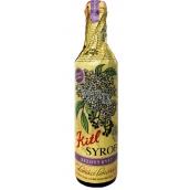 Kitl Syrob BIo Elderflower syrup hand-picked flowers for homemade lemonade 500 ml