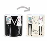 Albi Changing Mug Wedding - I Love You 310 ml