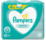 Pampers Sensitive wet wipes for children 4 x 52 pieces