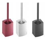 Spokar Home WC set brush head diameter is 75 mm, cover height 17 cm 1 piece
