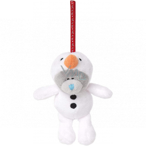 Me To You Teddy bear hanging a snowman