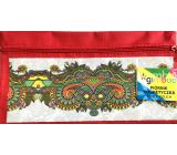 Donau Gimboo School case with zipper ornaments red 22 x 12 cm