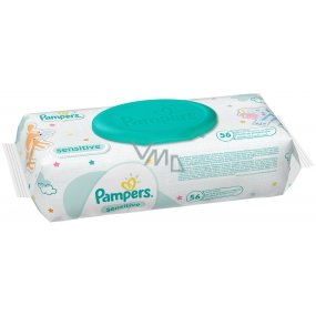 Pampers Sensitive Wipes for sensitive skin of children 56 pieces