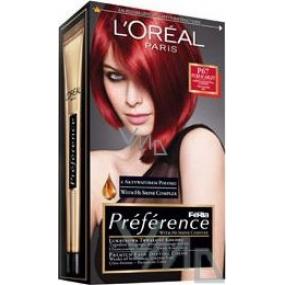 Loreal Paris Préférence Féria hair color P67 very intense red