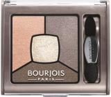 Bourjois Smoky Stories Quad Eyeshadow Palette oční stíny 12 Sau Mondaine 3,2 g