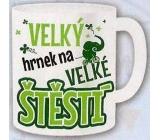 Nekupto Dárky s humorem Hrnek maxi Velký hrnek na velké štěstí 0,8 l, FX 007