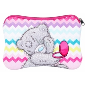 Me to You Neoprene cosmetic bag, Zig-Zag 17.5 cm x 11.5 cm x 1.5 cm