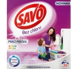 Savo Color chlorine-free washing powder for colored laundry 20 doses 1.4 kg