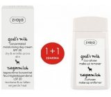 Ziaja Goat's Milk SPF 20 Concentrated Day Cream 50 ml + Goat's Milk Two-phase Eye & Lip Remover 120 ml, duopack