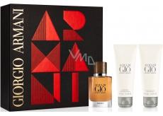 Giorgio Armani Acqua di Gio Absolu perfume water for men 40 ml + shower gel 75 ml + after shave balm 75 ml, gift set
