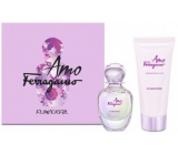 Salvatore Ferragamo Amo Ferragamo Flowerful Eau de Toilette 50 ml + Body Lotion 100 ml, gift set