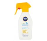 Nivea Sun Kids F50 + Sensitive sunscreen waterproof unscented spray 300 ml
