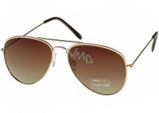 Nac New Age Sunglasses gold AZ ICONS 1140C