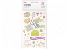 Albi Diary stickers, block Lettering 10 sheets