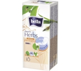 Bella Herbs Plantago Sensitive hygienic flavored panty liners 18 pieces