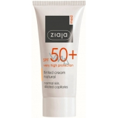 Ziaja Med Protecting SPF 50+ UVA + UVB toning cream for normal skin 50 ml