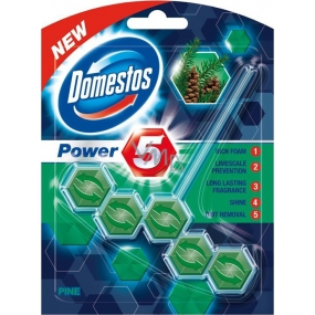 Domestos Power 5 Pine Wc solid block 55 g