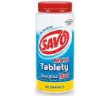 Savo 3in1 Maxi Complex Chlorine tablets for swimming pool disinfection 1.4 kg