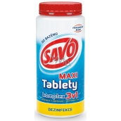 Savo 3in1 Maxi complex Chlorine tablets for pool disinfection 1.4 kg