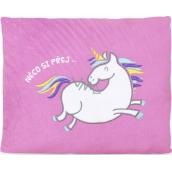 Albi Humorous pillow large Unicorn 36 x 30 cm