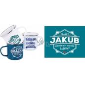 Albi Tin mug named Jakub 500 ml