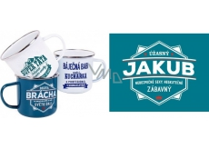 Albi Albi Metal cup with the name 006 Jakub