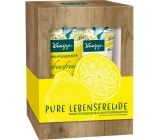 Kneipp Pure Lebensfreude shower gel 200 ml + body lotion 200 ml, cosmetic set