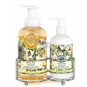 Michel Design Works The Secret of the Wood foaming liquid hand soap 530 ml + hand and body lotion 236 ml, cosmetic set