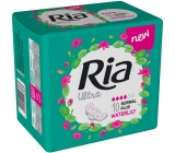 Ria Ultra Normal Plus Waterlily sanitary pads with wings 10 pieces