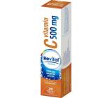 Revital Vitamin C Orange food supplement for normal immune function 500 mg 20 effervescent tablets