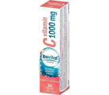 Revital Vitamin C Mango and orange dietary supplement for normal immune function 1000 mg 20 effervescent tablets