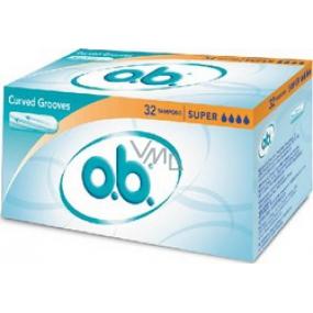 ob Original Super tampons 32 pieces