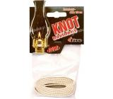 Fire Knot cotton flat length 100 cm, diameter 0.7 cm