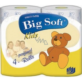 Big Soft Kids Eau de Parfum toilet paper 3 ply 160 snatches 4 pieces